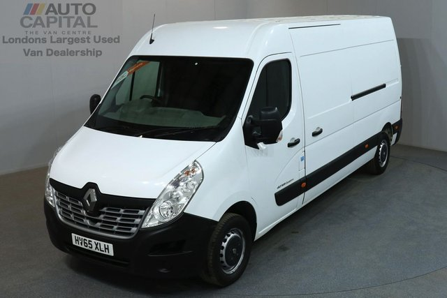 2015 65 RENAULT MASTER 2.3 LM35 BUSINESS 125 BHP L3 H2 LWB MEDIUM ROOF ONE OWNER, SERVICE HISTORY