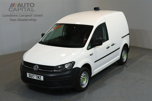 2017 17 VOLKSWAGEN CADDY 2.0 C20 PLUS TDI STARTLINE 74 BHP A/C E6 MANUFACTURER WARRANTY UNTIL 1/03/2020