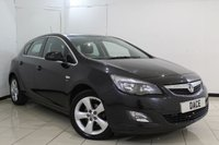USED 2011 61 VAUXHALL ASTRA 1.4 SRI 5DR 98 BHP CRUISE CONTROL + PARKING SENSOR + MULTI FUNCTION WHEEL + AUXILIARY PORT + AIR CONDITIONING + 17 INCH ALLOY WHEELS