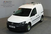 USED 2016 66 VOLKSWAGEN CADDY 2.0 C20 PLUS TDI STARTLINE 74 BHP A/C E6 ONE OWNER FROM NEW, MANUFACTURER WARRANTY UNTIL 24/11/2019