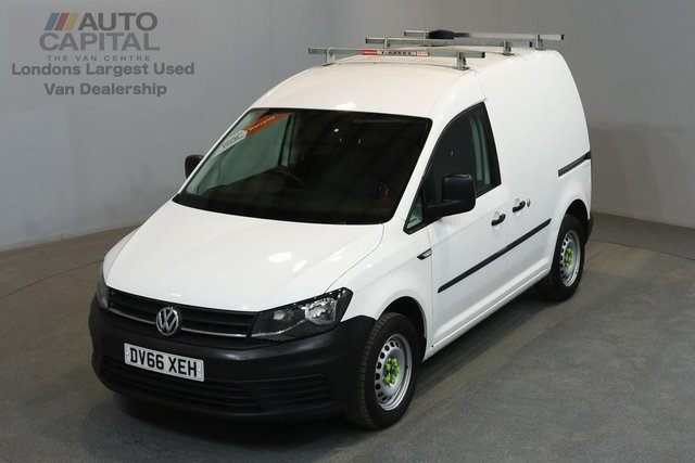 2016 66 VOLKSWAGEN CADDY 2.0 C20 PLUS TDI STARTLINE 74 BHP A/C E6 ONE OWNER FROM NEW, MANUFACTURER WARRANTY UNTIL 24/11/2019