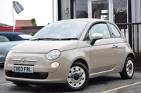 USED 2013 63 FIAT 500 1.2 POP 3d 69 BHP Full Service History 3 Stamps