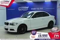 2011 BMW 1 SERIES 2.0 120D M SPORT 2d 175 BHP £8999.00
