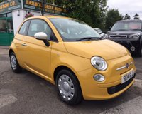2014 FIAT 500 1.2 COLOUR THERAPY 3d 69 BHP £5299.00