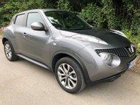 2013 NISSAN JUKE 1.6 TEKNA 5d AUTO 117 BHP £10250.00