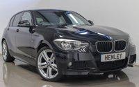 2015 BMW 1 SERIES 2.0 118D M SPORT 5d 141 BHP £12990.00