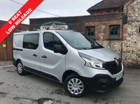 USED 2016 16 RENAULT TRAFIC 1.6 SL27 BUSINESS DCI S/R W/V 1d 115 BHP Only 36,000 Miles, 6 Seat, One Owner, Roof Bars, Finance In 60 Seconds.