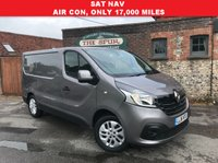 USED 2016 16 RENAULT TRAFIC 1.6 SL27 SPORT ENERGY DCI S/R P/V 1d 120 BHP SAT NAV, Only 17,500 Miles, Air Con, 120 BHP, Rare Oyster Grey.