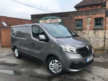 2016 RENAULT TRAFIC 1.6 SL27 SPORT ENERGY DCI S/R P/V 1d 120 BHP £12995.00