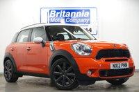 2012 MINI COUNTRYMAN 1.6 COOPER S ALL4  CHILLI PACK 184 BHP £10590.00