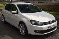 USED 2012 62 VOLKSWAGEN GOLF 2.0 GT TDI 5d 138 BHP FULL HISTORY, SPORTS HEATED LEATHER, UPGRADE ALLOYS, CD RADIO, 6 SPEED GEARBOX