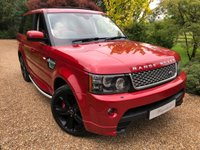 USED 2012 62 LAND ROVER RANGE ROVER SPORT 5.0 V8 AUTOBIOGRAPHY SPORT 5d AUTO 510 BHP