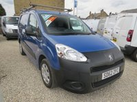 2012 PEUGEOT PARTNER 1.6 E-HDI SE L2 750 89 BHP VAN WITH TWIN SIDE DOORS AND ROOF RACK £5750.00