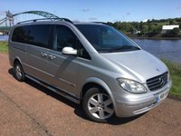 USED 2008 V MERCEDES-BENZ VIANO 3.0 CDI EXTRA LONG AMBIENTE 5d 202 BHP **FULLY LOADED EXAMPLE**