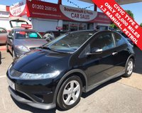 2009 HONDA CIVIC 1.3 I-VTEC TYPE S 3d 98 BHP **ONLY 52,000 MILES** £4995.00