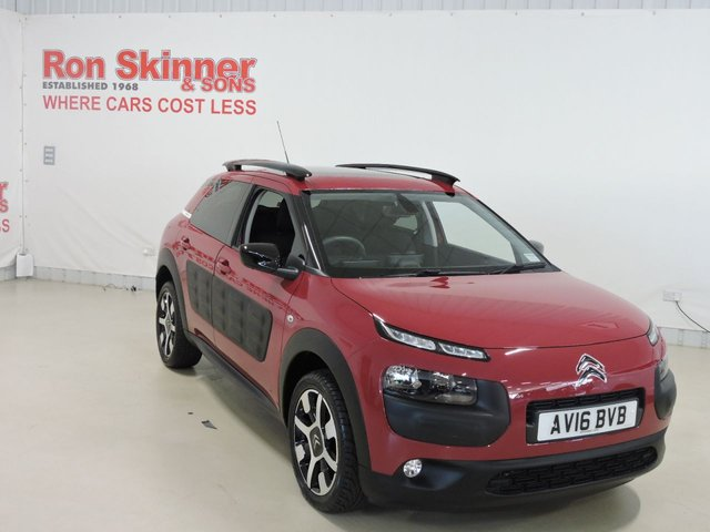 View our 2016 16 CITROEN C4 CACTUS 1.6 BLUEHDI FLAIR EDITION 5d 98 BHP