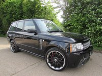 USED 2006 06 LAND ROVER RANGE ROVER 4.2 V8 SUPERCHARGED OVERFINCH GT AERO 5d AUTO 391 BHP Overfinch GT Aero