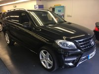 2015 MERCEDES-BENZ M CLASS 3.0 ML350 BLUETEC AMG LINE 5d AUTO 258 BHP £27995.00