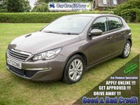 USED 2014 63 PEUGEOT 308 1.6 E-HDI ACTIVE 5d 114 BHP