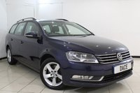 USED 2014 14 VOLKSWAGEN PASSAT 2.0 S TDI BLUEMOTION TECHNOLOGY 5DR 139 BHP FULL SERVICE HISTORY + MULTI FUNCTION WHEEL + AIR CONDITIONING + AUXILIARY PORT + RADIO/CD + 16 INCH ALLOY WHEELS