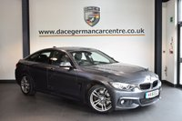 USED 2016 16 BMW 4 SERIES 3.0 430D M SPORT GRAN COUPE 4DR AUTO 255 BHP + FULL BLACK LEATHER INTERIOR + FULL SERVICE HISTORY + PRO SATELLITE NAVIGATION + XENON LIGHTS + HEATED SPORT SEATS + BLUETOOTH + CRUISE CONTROL + DAB RADIO + CLIMATE CONTROL + PARKING SENSORS + 18 INCH ALLOY WHEELS +