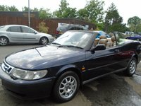 USED 1999 V SAAB 9-3 2.0 SE TURBO ECO 2d 154 BHP GREAT VALUE + READY FOR THE SUMMER