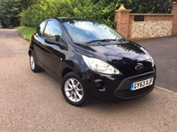 2014 FORD KA 1.2 STUDIO PLUS 3d 69 BHP PLEASE CALL TO VIEW £SOLD