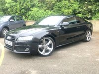 2010 AUDI A5 2.0 TDI S LINE SPECIAL EDITION 2d 170 BHP, 6 SERVICES, B&O SOUND £9490.00