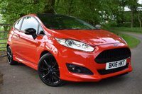 2016 FORD FIESTA 1.0 ZETEC S RED EDITION 3d 139 BHP