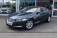 USED 2013 13 JAGUAR XF 2.2 D LUXURY 4d AUTO 163 BHP Colour Satellite Navigation