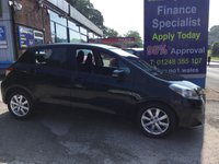 USED 2012 12 TOYOTA YARIS 1.3 VVT-I TR 5d 98 BHP, only 47000 miles ***GREAT FINANCE DEALS AVAILABLE***