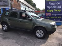 USED 2015 15 DACIA DUSTER 1.5 AMBIANCE DCI 5d 107 BHP, only 46500 miles ***GREAT FINANCE DEALS AVAILABLE***