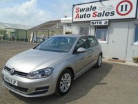 2013 VOLKSWAGEN GOLF 1.6 SE TDI BLUEMOTION TECHNOLOGY 5d 103 BHP £8995.00