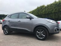 2015 HYUNDAI IX35 1.7 CRDI SE 5d  ONE PRIVATE OWNER FROM NEW  £10500.00