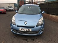 USED 2010 10 RENAULT GRAND SCENIC 1.5 DYNAMIQUE TOMTOM DCI 5d 105 BHP