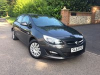 2013 VAUXHALL ASTRA 1.4 EXCLUSIV 5d 98 BHP PLEASE CALL TO VIEW £4650.00