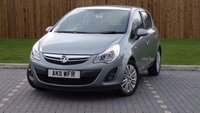 USED 2011 11 VAUXHALL CORSA 1.4i 16v (100ps) SE