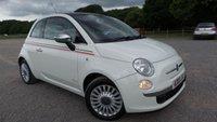 2008 FIAT 500 1.2 LOUNGE 3d 69 BHP £3495.00