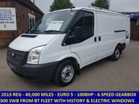 2013 FORD TRANSIT 300s SWB DIRECT FROM BT FLEET WITH FULL HISTORY £7495.00