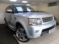 2010 LAND ROVER RANGE ROVER SPORT 5.0 V8 HSE 5d AUTO 510 BHP £20995.00