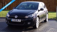 USED 2010 10 VOLKSWAGEN GOLF 2.0TDI (140ps) GT