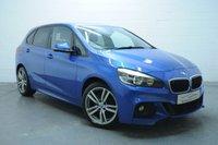 2014 BMW 2 SERIES 2.0 218D M SPORT ACTIVE TOURER 5d 148 BHP £11795.00
