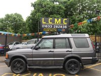 USED 2001 Y LAND ROVER DISCOVERY TD5 ES FINISHED IN SATELLITE GREY METALLIC WITH FULL DARK GREY LEATHER UPHOLSTERY. THIS IS THE CHEAPEST LIKE FOR LIKE DISCOVERY ON AUTOTRADER. BLACK ALLOY WHEELS. ELECTRIC HEATED SEATS. CRUISE CONTROL. ELECTRIC WINDOWS. REMOTE CENTRAL LOCKING. AIR CONDITIONING. PLEASE GOTO www.lowcostmotorcompany.co.uk TO VIEW OVER 120 CARS IN STOCK, SOME OF THE CHEAPEST ON AUTOTRADER.