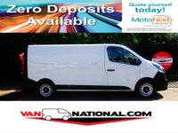 2015 VAUXHALL VIVARO 1.6 2900 L2H1 CDTI P/V 115 BHP  LWB (one owner new shape) £8690.00