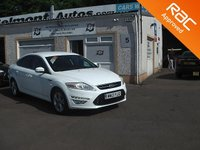USED 2013 13 FORD MONDEO 2.0 TITANIUM X BUSINESS EDITION TDCI 5d AUTO 161 BHP Low mileage , Parking sensors,Bluetooth,Variable Climate Control Seats ,