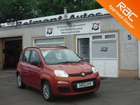 USED 2012 12 FIAT PANDA 1.2 EASY 5d 69 BHP Roof Rails, Air conditioning , Partial service history