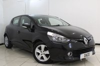 USED 2015 15 RENAULT CLIO 1.5 EXPRESSION PLUS ENERGY DCI S/S 5DR 90 BHP SERVICE HISTORY + BLUETOOTH + CRUISE CONTROL + MULTI FUNCTION WHEEL + AUXILIARY PORT + AIR CONDITIONING + RADIO/CD + 15 INCH ALLOY WHEELS