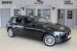 USED 2014 14 BMW 1 SERIES 1.6 116D EFFICIENTDYNAMICS 5d 114 BHP FULL BMW SERVICE HISTORY + BLUETOOTH + FREE ROAD TAX + REAR PARKING SENSORS + DAB RADIO + 16 INCH ALLOYS + RAIN SENSORS
