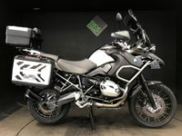 2012 BMW R1200 GS ADVENTURE TU TRIPLE BLACK. FBSH. 11972 MILES. ESA. ASC. ABS. ALARM £8495.00