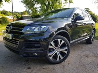 USED 2014 14 VOLKSWAGEN TOUAREG 3.0 V6 R-LINE TDI BLUEMOTION TECHNOLOGY 5d AUTO 242 BHP